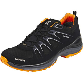 Lowa Innox Evo GTX Lage Schoenen Heren, black/orange